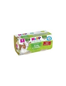 HIPP POLLO VITELLO 2x80GR
