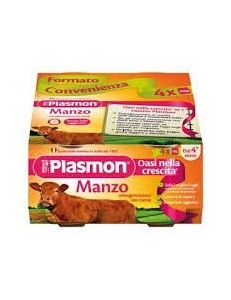 PLASMON MANZO 80GR 4PZ