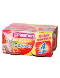 PLASMON CONIGLIO 80GR 4PZ