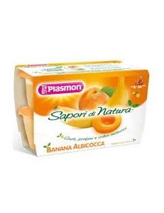 SAPORI DI NATURA ALBICOCCA BANANA 4PZ 100GR PLASMON