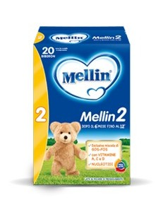 MELLIN 2 POLVERE 1200 GR FORMATO RISPARMIO