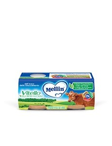 MELLIN VITELLO 2PZ 120GR OMOGENEIZZATO
