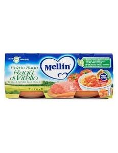 MELLIN PRIMISUGHI RAGU DI VITELLO 2PZ 80GR