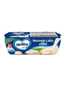 MELLIN MERENDA LATTE RISO 130GR 2PZ