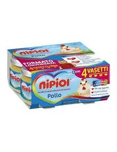 NIPIOL POLLO 4PZ 80GR