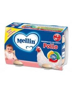 MELLIN POLLO 2PZ 120GR OMOGENEIZZATO