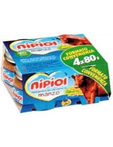 NIPIOL MANZO 4PZ 80GR