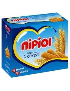 NIPIOL BISCOTTO 800GR 6 CEREALI