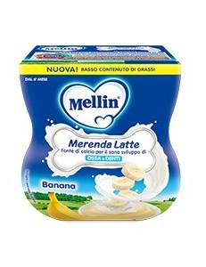 MELLIN MERENDA LATTE BANANA 100GR 2PZ