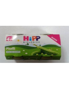HIPP PISELLI 2x80GR