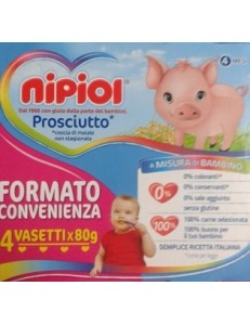 NIPIOL PROSCIUTTO 4PZ 80GR