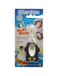 SILVER CARE HAPPY BRUSH SPAZZOLINO PRIMA INFANZIA 6-36MESI