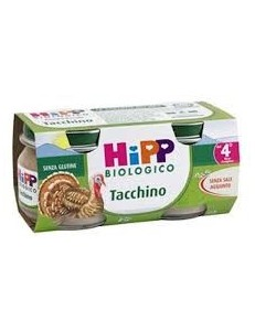 HIPP TACCHINO 2x80GR