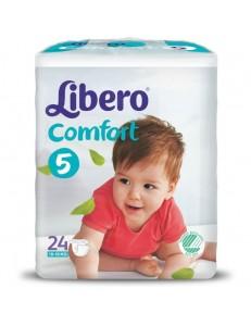 LIBERO 5 COMFORT 10-16KG 24PZ PANNOLINI