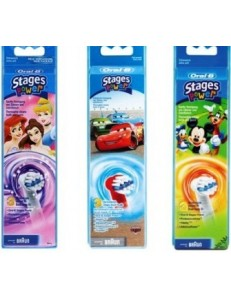 ORAL B STAGES POWER REFILL 3PZ EB 10 KIDS