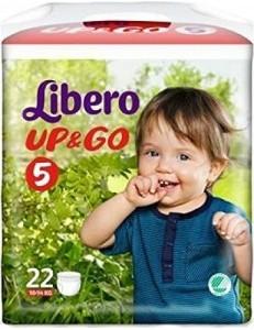LIBERO UP&GO 5 KG 10-14 PZ 22