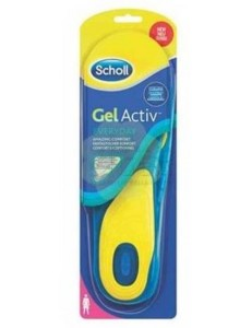 SCHOLL GEL ACTIVE EVERYDAY DONNA 35,5-40,5