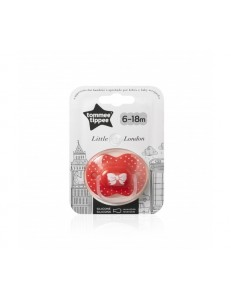 TOMMEE TIPPEE SUCCHIETTO LITTLE LONDON 6-18M GIRL SILICONE