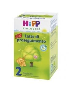 HIPP 2 POLVERE 600GR LATTE DI PROSEGUIMENTO