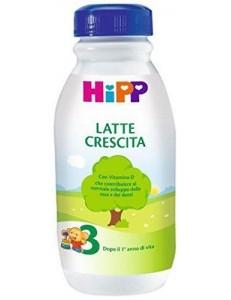 HIPP 3 LIQUIDO 500ML LATTE CRESCITA
