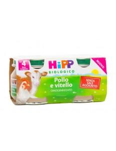 HIPP POLLO VITELLO 4x80GR