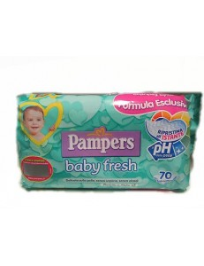 PAMPERS SALVIETTINE BABY FRESH 70PZ