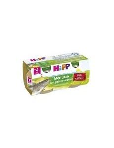 HIPP MERLUZZO 2x80GR