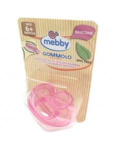 MEBBY GOMMOLO SILICONE 6M+ ROSA