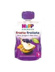 HIPP FRUTTA FRULLATA PERA PRUGNA E RIBES NERO 90GR