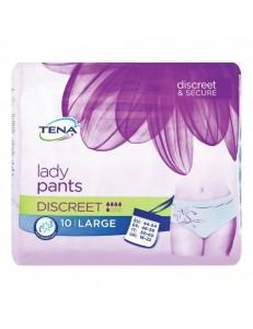 TENA LADY PANTS DISCREET TG.L PZ.10