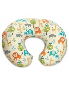 BOPPY CUSCINO ALLATTAMENTO COTONE PEACEFUL JUNGLE
