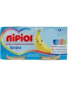 NIPIOL BANANA 6PZ 80GR