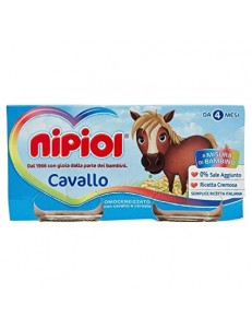 NIPIOL CAVALLO 4PZ 80GR