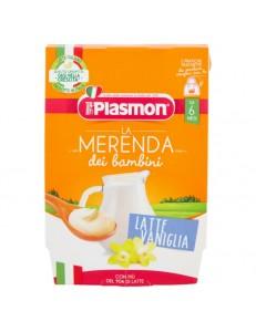 PLASMON MERENDA LATTE VANIGLIA 2PZ 120GR