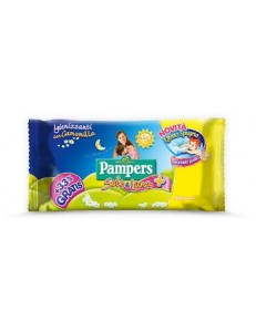 PAMPERS SALVIETTINE SOLE E LUNA 60 PZ.