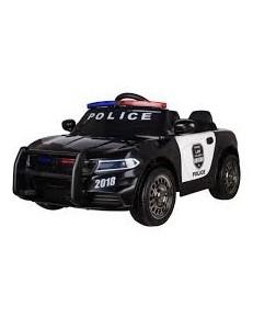 JC666 POLICE AUTO NERA 12V BABYCAR