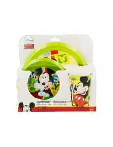 MICKEY VERDE SET PAPPA 3 PZ    ART.44215