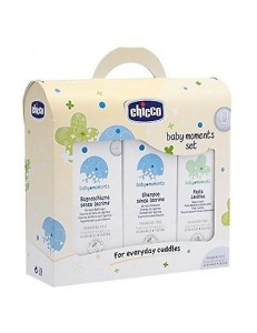 SET REGALO BABY MOMENTS S/PARABENI BAGNOSH+SHAMPOO+PASTA