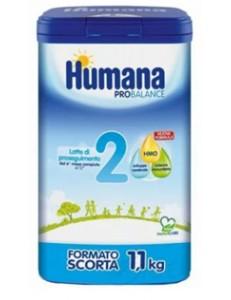 HUMANA 2 PROBALANCE POLVERE 1,100 GR