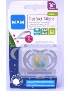 MAM SUCCHIETTO PERFECT NIGHT SILICONE 16M+ NEUTRO