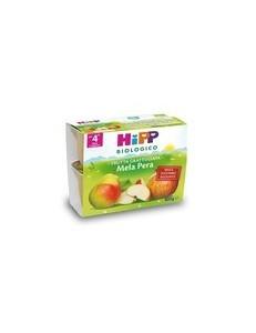 HIPP FRUTTA GRATTUGIATA MELA PERA 4x100GR