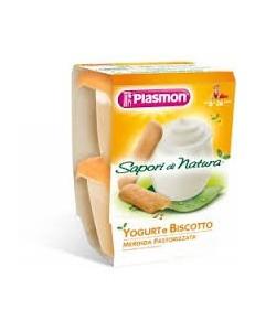 SAPORI DI NATURA YOGURT BISCOTTO 2PZ 120GR PLASMON