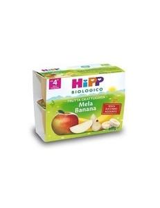 HIPP FRUTTA GRATTUGIATA MELA BANANA 4x100GR