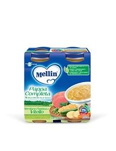 MELLIN PAPPA COMPL VITELLO 2PZ 250GR