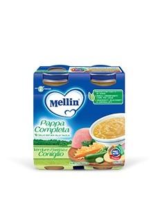 MELLIN PAPPA COMPL CONIGLIO 2PZ 250GR