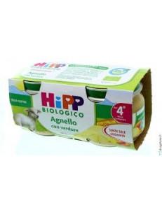 HIPP AGNELLO CON VERDURE 2x80GR