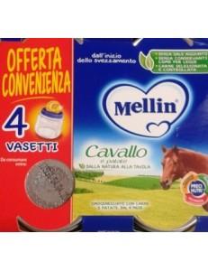 MELLIN CAVALLO 4PZ 80GR OMOGENEIZZATO
