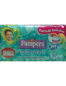 PAMPERS SALVIETTINE BABY FRESH 50PZ