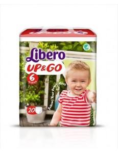LIBERO UP&GO TG 6 KG 13-20 20PZ