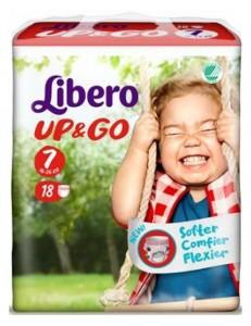 LIBERO UP&GO TG 7 KG 16-26 18 PZ